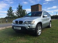 Lovely 2001 BMW X5 SPORT AUTO 3.0 PETROL, FULL SERVICE HISTORY