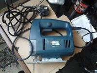 Black & Decker jigsaw KS531 370W used a few times only