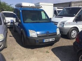 2006 FORD CONNECT DIESEL VAN LONG MOT READY FOR WORK IN RARE SKY BLUE ANYTRIAL WELCOME PX CONSIDERE