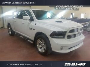2015 Ram 1500 Sport 4x4  NAVIGATION  SUNROOF  HEATED STEERING
