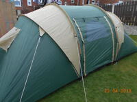 pro action 4 man tent