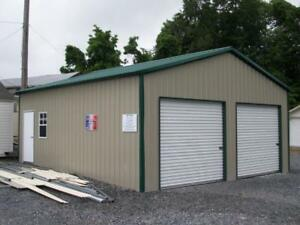 New White Garage 10' x 10' Roll-up Door