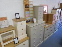 Brand New Ex-Display Pine & Oak Furniture For Sale