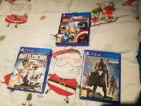 PS4 GAMES x3 Lego Avengers. Battleborn. & Destiny