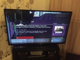 50 inch Hitachi TV (broken screen)