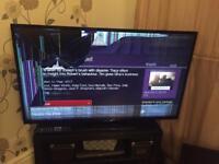 50 inch Hitachi TV (broken screen)