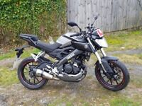 Yamaha MT125 ABS 2015 with loads of extras