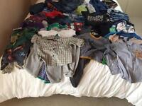 Boys clothes 12-18 months. Huge 59 piece bundle. All good makes.