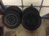 4 Wheels including tyres