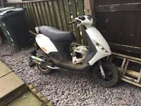 Piaggio zip 50cc 61 plate with 70s kit 2 stroke
