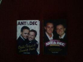 2 x Ant & Dec Books for sale.