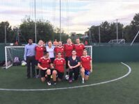 Ladies Women football - all age. Girls wanted. 5 aside and 11 aside