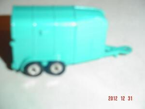 """HUSKY MODELS"" DIECAST RICE HORSEBOX TRAILER"