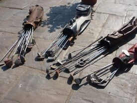 30 old golf clubs - All over 20/30/40 years old, ageing nicely bordering on vintage!