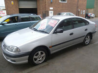 Toyota AVENSIS Vermont,5 door hatchback,clean tidy car,runs and drives well,cheap motoring