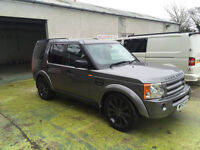 2007 LAND ROVER DISCOVERY 3 TDV6 HSE GREY AUTO 90800 MILES