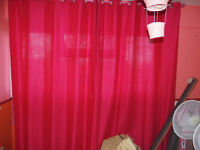 Full length curtains
