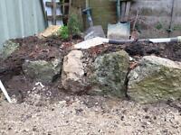 Rustic Cotswold Stone Rockery