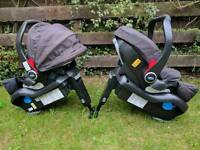 Graco car seat and iso fix base