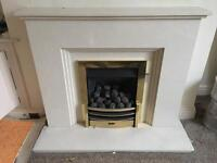 Valor Gas Fire and stone surround