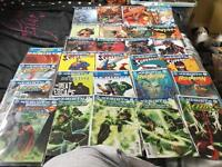28 comic bundle dc rebirth titles including first issues and the rebirth one shot, first prints