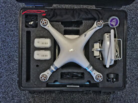 DJI Phantom 3 Advanced, plus B&W 6000 Case, Spare Battery, SRP Filters and More