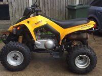 Can am bombardier 250cc road legal quad bike