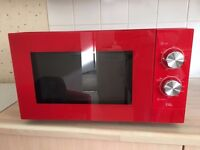 Microwave in immaculate condition from a smoke and pet free home.