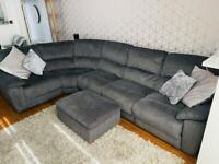 Electric Recliner Modular Corner Sofa
