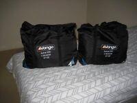 2 no vango sleeping bags as new