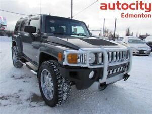 2009 Hummer H3 4X4 RIMS TIRES LEATHER