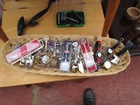 """""""""""REDUCED"""""""" LARGE JOB LOT OF COSTUME JEWELRY,WATCHES AND SPOONS ETC."""