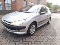Peugeot 206 Automatic. HPI CLEAR. 11 Months Mot. NOT NISSAN MICRA OR TOYOTA YARIS