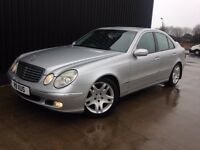 2004 Mercedes-Benz E Class 2.1 E220 CDI Elegance 4dr Huge Spec Diesel Automatic, May PX