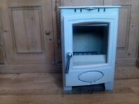 Arrow ecoburn 4 plus ,multifuel stove,cream