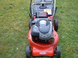 rover lawn mower self drive spares or repair runs