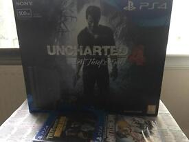 New sealed ps4