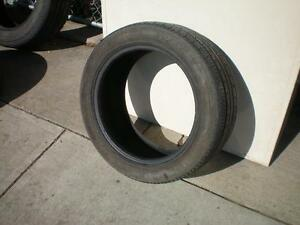 1 Fuzion UHP Sport A/S Tire * 245 45R17 99W * $20.00 .  M+S / All Season Tire ( used tire )
