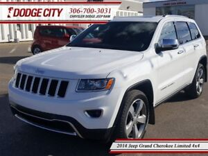 2014 Jeep Grand Cherokee Limited | 4x4 | PST PAID - Heated Leath