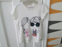 VARIOUS GIRLS ITEMS - AGE 6-7 - ZARA / H&M / GEORGE - VGC - FROM £1.50 PER ITEM