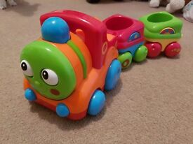 Toy box train by Early learning centre