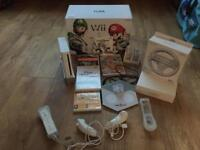 Nintendo console with accessories