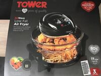 Brand new Tower Air Wave low fat fryer