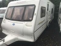Bailey senator Wyoming twin axle fixed bed 2004 touring caravan