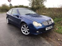 2005 Mercedes Compressor C180, 89k only, AUTOMATIC, 8 months MOT, FSH included.