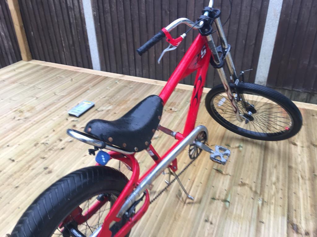 Schwinn chopper bike