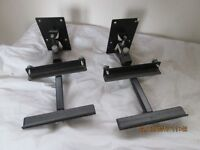 AVF Stereo Wall Hanging Speaker Brackets For Sale In Leicester Leicestershire