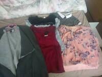 Bundle of ladies size L clothes