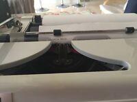 Erika typewriter.