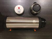 Unused Stainless Steel 'Landrover' branded flask